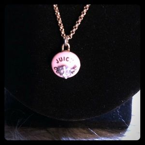 Cute Juicy Couture birthday cupcake necklace!